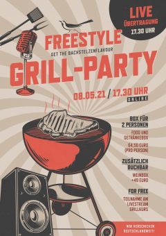 Freestyle Grill Online Party am 13.05.2021