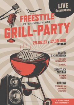 Freestyle Grill Online Party am 29.05.2021
