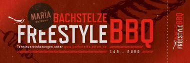 Bachstelze Freestyle BBQ  09.03.2019